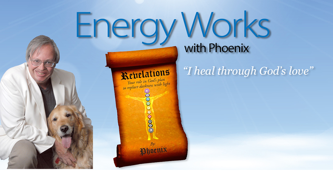 Energy Works with John Naughton - I heal through God's love - Author Energy Healer Intuitive Psychic Medium